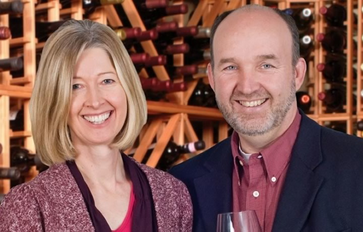The Wine Coaches, Jocelyn Klemm and Richard Kitowski