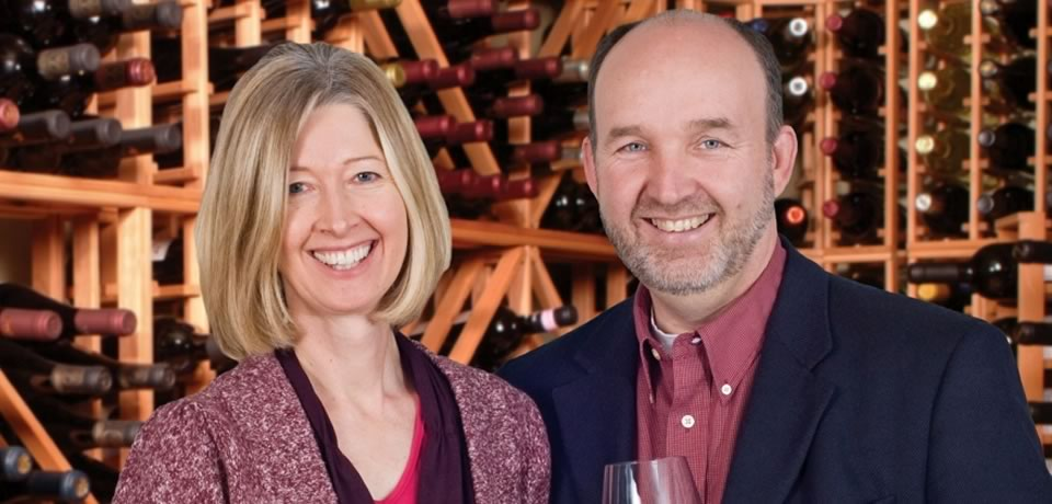 The Wine Coaches, Jocelyn Klemm and Richard Kitowski