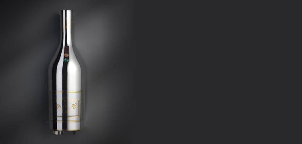 Chrome Dual Le Verre de Vin Classic BC02